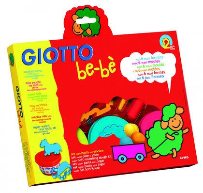 Set super Pasta de modelar Giotto Be-bè