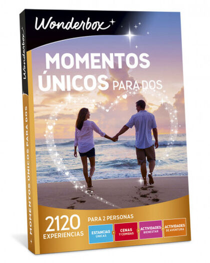 Pack de experiencia Wonderbox Momentos unicos para dos 2017-2018