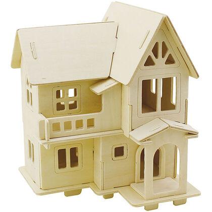 Maqueta Creative casa 3D balcón