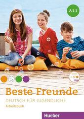 BESTE FREUNDE A1.1 ARBEITSBUCH+CD Hueber Internacional 9783194010512