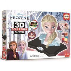 Puzzle 3D Frozen Sculpture Frozen II