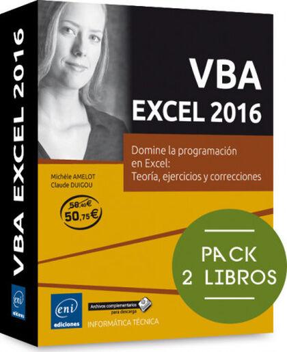 VBA EXCEL 216 - Pack de 2 libros: Domine la programación en Excel:teoría, ejercicios y correcciones