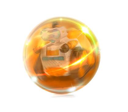 Robot Ninco Ball bot1 con luz