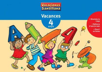 VACANCES INFANTIL 4 ANYS Grup Promotor Vacan. 9788479115319