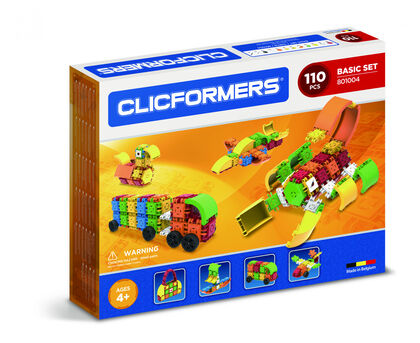 Juego de construcción Clics Clicformers Set Básico 11 Piezas