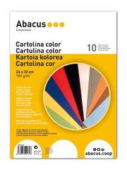 Cartulina Abacus Surtido de colores 240x320 mm