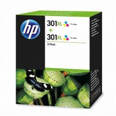Cartucho HP Original 301XL Color
