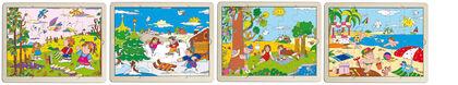 Set Puzzles Estaciones (4 unidades)