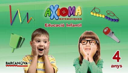MATEMÀTIQUES AXIOMA INFANTIL 4 ANYS Barcanova Text 9788448934583