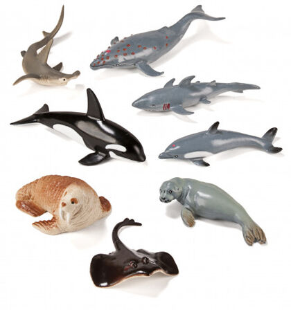 Figura Animales de marinos 8U