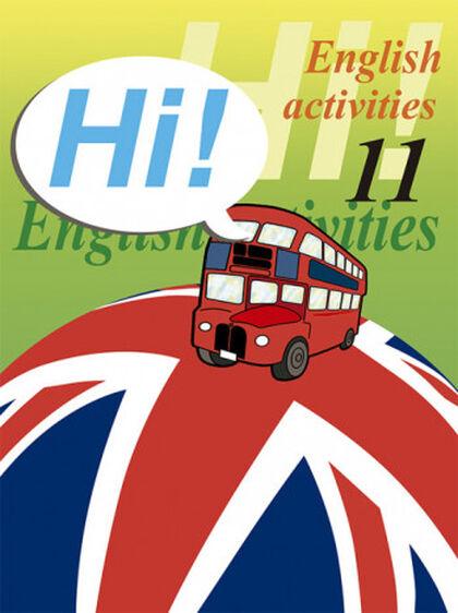 ENGLISH ACTIVITIES 11 HI! Nadal 9788478873968