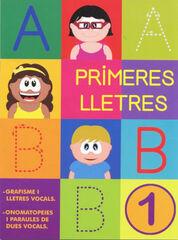 PRIMERES LLETRES PAL 1 GRAFISME Nadal 9788478875481