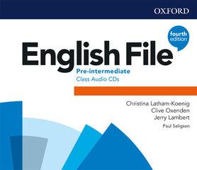 ENGLISH FILE P-INT CLASS CD 4ED (3) Oxford audio 9780194036290