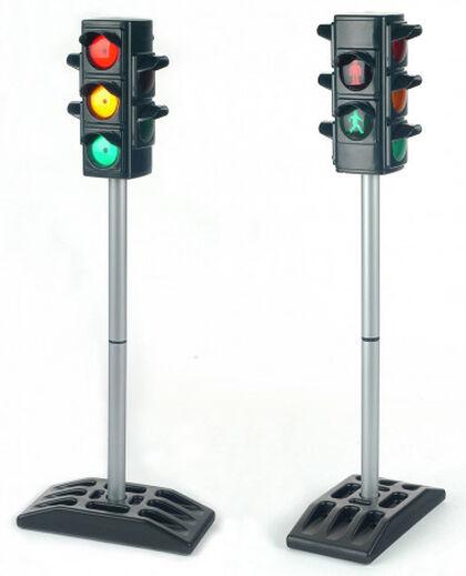 Señal de tráfico semáforo Klein