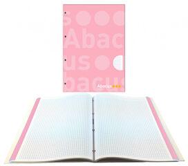 NotebookAbacusEncuadernado A4 70gr5x5Rosa