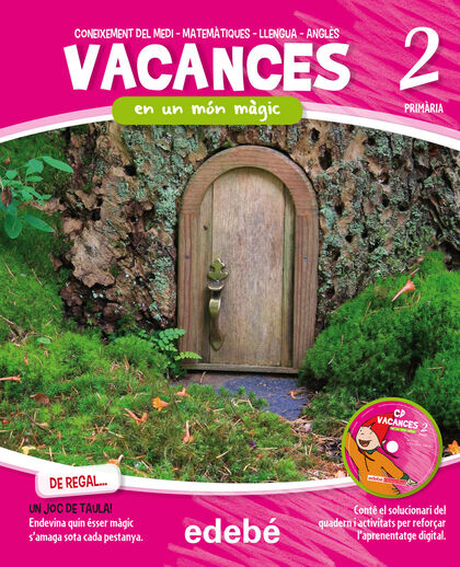 VACANCES MÓN MÀGIC 2n PRIMÀRIA Edebé 9788468309996