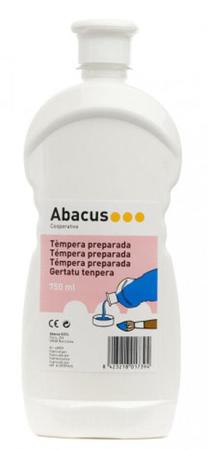 Tempera prepaprada Abacus 750 ml Blanc