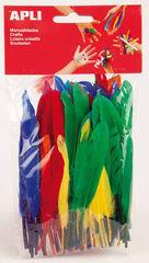 Plumas Apli Colores diferentes 100U