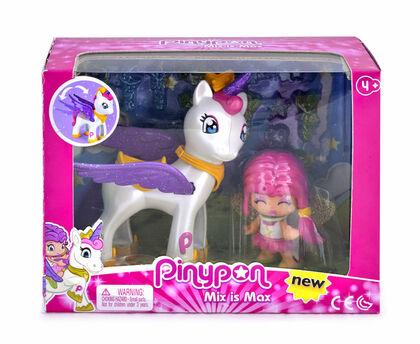 Figures Pinypon  Estrella amb unicorn volador
