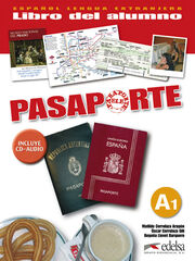 EDELSA Pasaporte 1 A1/Alumno+CD Edelsa 9788477113935