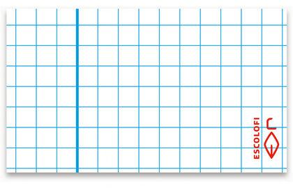 Rec.DIN-A4 cuad.3x3 margen 4 aguj. 100F