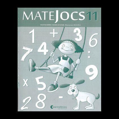 MATEJOCS 11 4t PRIMÀRIA Salvatella 9788484127956