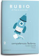COMPETENCIA LECTORA 2 ESPACIAL PRIMARIA Rubio 9788489773875