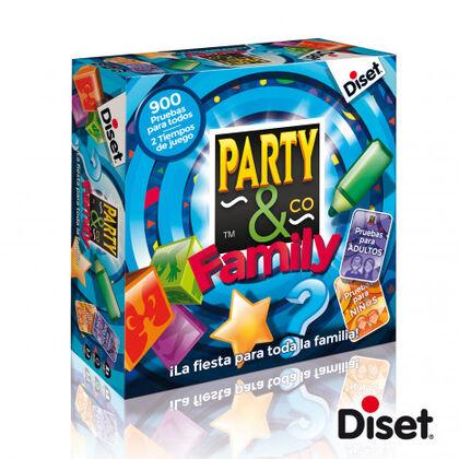 Juego cooperativo Diset Party & Co. Junior Family