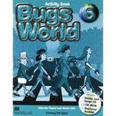 Bugs World/AB Pack PRIMÀRIA 6 Macmillan-Text 9780230407640