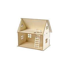 Maqueta Creative casa 3D muñecas