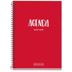 AgendaEscolarMiquelriusPlus 2020 - 2021 Roig A5 Día Catalán Rojo