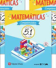 MATEMATICAS COMPETENCIALES 5 TRIM (ZOOM) Vicens Vives 9788468263281