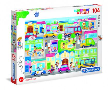 Puzzle Clementoni La ciudad