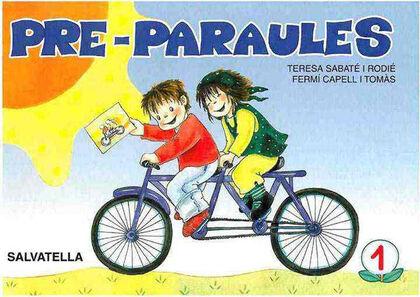 PRE-PARAULES 1 Salvatella 9788472104525