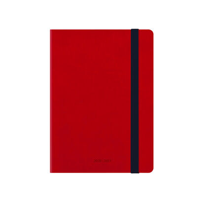 Agenda Legami 2020 - 2021 - 18 mesos  Setmana Vista Multilingüe Vermell (9x13 cm)