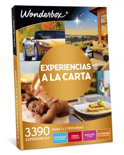 Pack de experiencia Wonderbox Experiencias a la carta 2017-2018