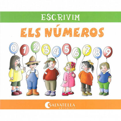 ESCRIVIM ELS NÚMEROS Salvatella 9788484125099