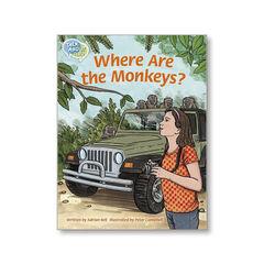 TA L23 WHERE ARE THE MONKEYS? Macmillan 9781420240917