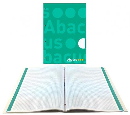 NotebookAbacusEncuadernado A4 70gr5x5VerdeOscuro