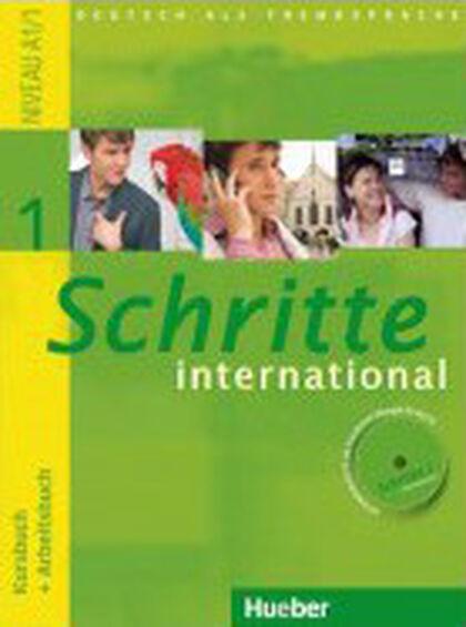SCHRITTE INTERNATIONAL 1 KURSBUCH+ARBEITSBUCH+CDXXL Hueber Text 9783194018518