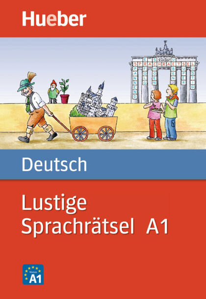 HUE Lustige Sprachrätsel Deutsch A1 Hueber 9783190995813