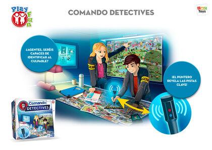 Juego de deducción Imc Comando detectives