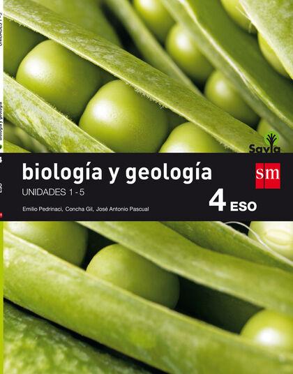 BIOLOGÍA Y GEOLOGÍA  SAVIA 4º ESO SM 9788467587050