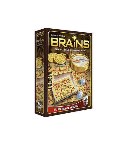 Brains. Mapa del Tresor