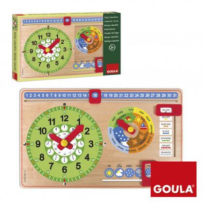 Aprendizaje Reloj calendario catalán