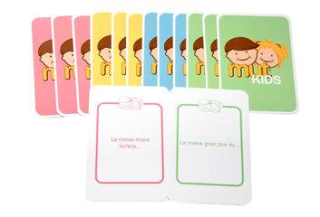 Juego de cartas Mutkids El juego de las emociones