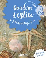 ESTIU MATEMÀTIQUES 1r ESO Barcanova Quaderns 9788448940195