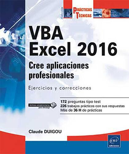 VBA Excel 2016-Cree aplicaciones profesi