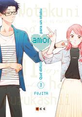 Qué difícil es el amor para un otaku 3
