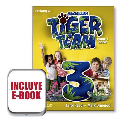 MCM E3 Tiger/PB/17 Macmillan-Text 9781380014627